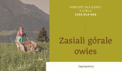 TOS zasiali gorale owies